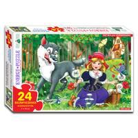 Пазлы 24 Красная Шапочка (коробка)