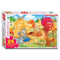 Пазлы 24 Колосок (коробка)