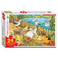 Пазлы 24 Гадкий утенок (коробка)