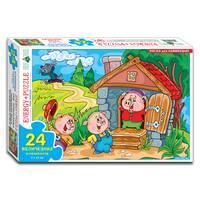 Пазлы 24 Три поросенка (коробка)