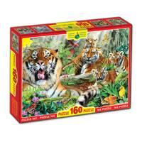 Пазлы 160, Тигры
