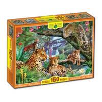 Пазлы 160, Леопарды