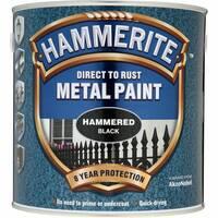 Антикорозійна фарба Hammerite золота глянцева  0,7л.