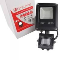LED прожектор з датчиком руху 10w IP65