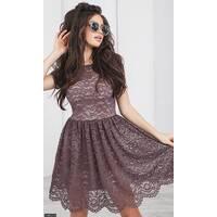Платье 438421-6 мокко Весна-Лето 2018 Украина