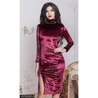 Платье 43762902-4 бордо Зима 2017 Украина