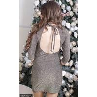 Платье 43763021-2 золото Зима 2017 Турция