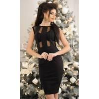 Платье 437912 черный Весна 2018 Украина