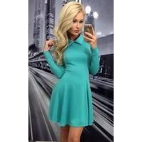 Платье 435241-3 ментоловый Зима 2017 Украина