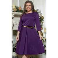 Платье 8512078-5 фиолетовый Зима 2017 Украина