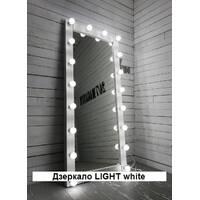 Дзеркало LIGHT white