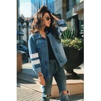 Короткая джинсовая  304 (ГН)