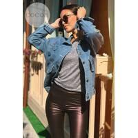 Куртка удлиненная джинсовая 281 (ГН)