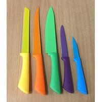 Набор кухонных металлокерамических ножей 5шт / АХ-27