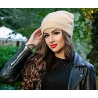 Двуслойная женская шапка (НАТ) 1218