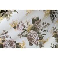 Тканина для штор квіти купити недорого