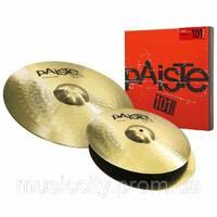 Набір тарілок для барабанів Paiste 101 Brass Universal Set