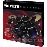 """Vic Firth MUTEPP3 набор резиновых пэдов 12"""", 13"""", 14"""", 16"""", 22"""""""