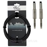 Gewa Alpha Audio Basic Line кабель J6,3стерео - J6,3стерео (3m)