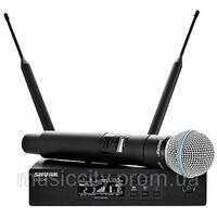 Shure QLXD24B58 цифровая радиосистема с ручным суперкардиоидным микрофоном