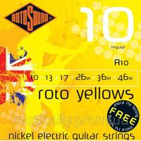 Струни Rotosound R10
