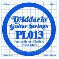 Струна D'Addario PL013 (1-а)