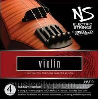 Струны для скрипки D'Addario NS310 NS 4/4