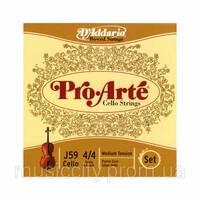 Струны для виолончели D'Addario J59 4/4M Pro Arte