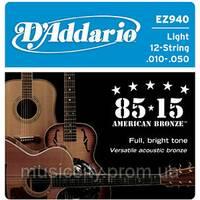 Струни D'Addario EZ940