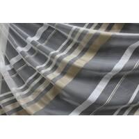 Тюль в спальню бежево-коричнева смужка купити в Сумах