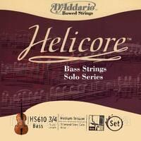 Струны для контрабаса D'Addario HS610 3/4M Helicore