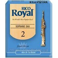 Тростина для сопрано-саксофона Rico RIB1020 Royal №2