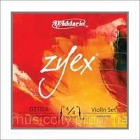 Струны для скрипки D'Addario DZ310A 4/4M Zyex