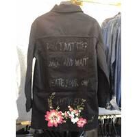 Куртка удлиненная джинсовая №ат7141 (ГЛ)