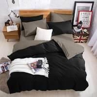Подростковое двустороннее постельное белье Черный + Порох