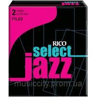 Тростини для альт-саксофона Rico SelectJazz 2h, 10шт.