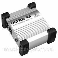 Behringer DI 100 ULTRA-DI активный DI-box