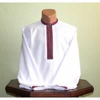 Рубашка мужская с тканой вышивкой