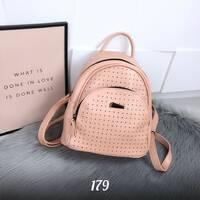 Стильный персиковый рюкзак 179 (ЯМ)