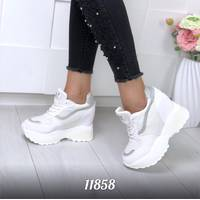 Кроссовки на платформе 11858 (ЯМ)