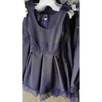 Школьный сарафан для девочки оптом 116-140 синий