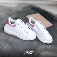 Белые кроссовки 11867 (ЯМ)