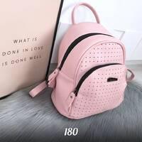 Стильный розовый рюкзак 180 (ЯМ)