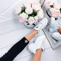 Кожаные кроссовки 3363 (ДБ)