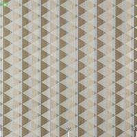 Декоративна тканина для штор покривал подушок і чохлів з малюнком спотвореної шахівниці бежевого кольору Іспанія 400314v1