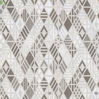 Декоративна тканина для покривал і подушок коричневі ромбики 280 см Іспанія 400329v1