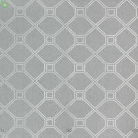 Декоративна тканина для штор покривал подушок чохлів в ромб сіра жаккард 400312v1