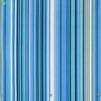 Декоративна тканина для штор покривал і подушок в тонку білу зелену і синю смугу на блакитному Туреччина 051670v7