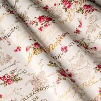 Штори тканина в маленьку квітку для спальні,дитячої та кухні