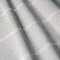 Тюль сіра з тонкими білими смугами 400308v1